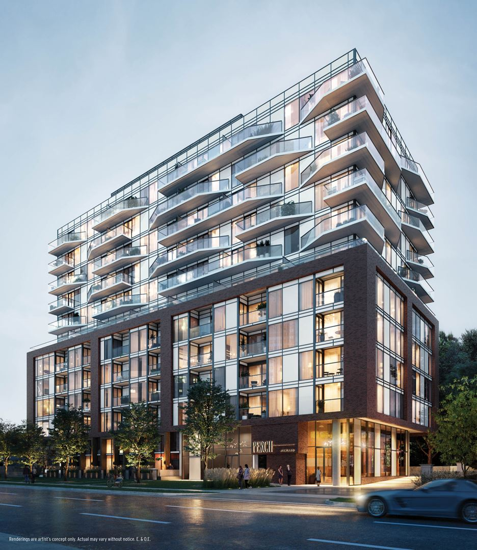 The Perch Condos Rendering