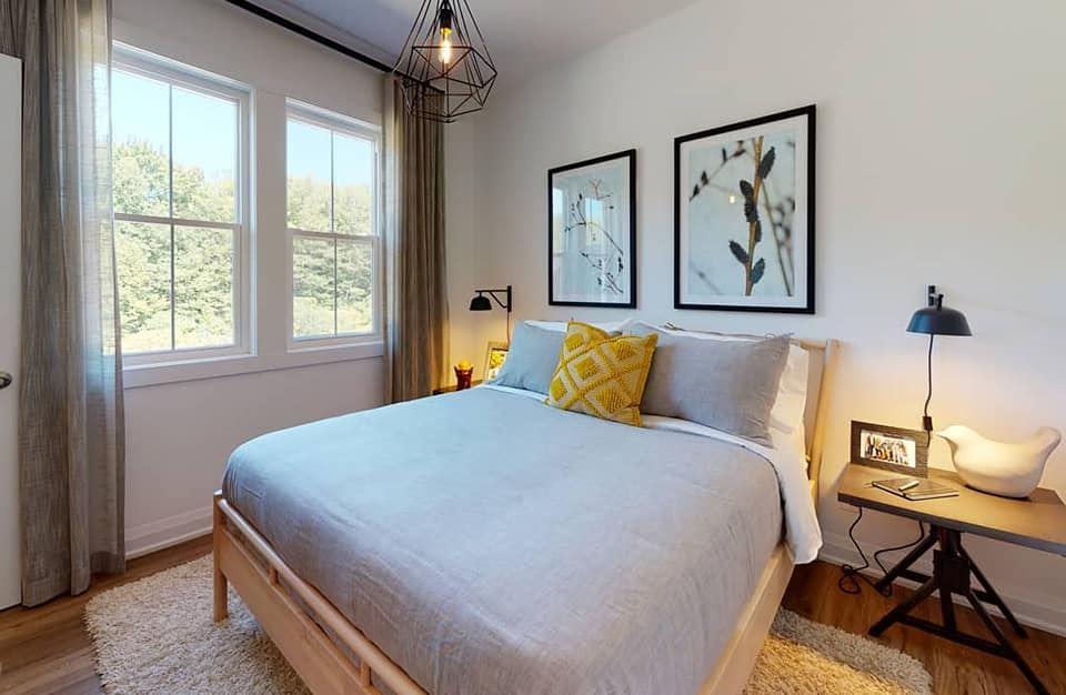 The Seasons on Little Lake Bedroom