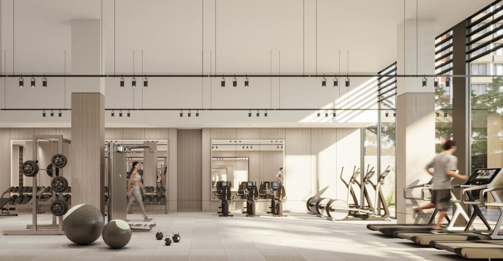 Westport Condos Fitness Facility