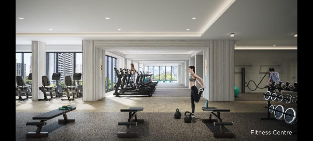 8 Wellesley Residences Fitness Centre
