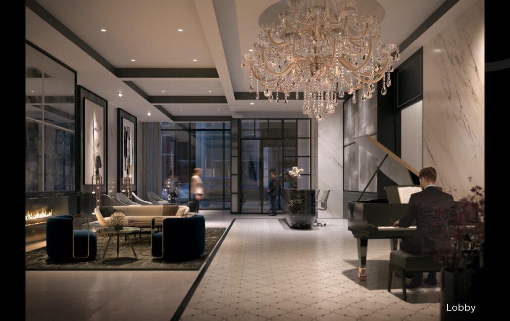 8 Wellesley Residences Lobby