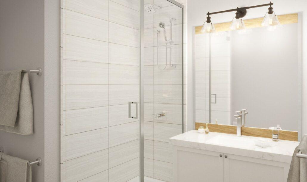 Edge Condos at Horseshoe Resort Bathroom