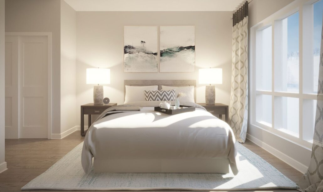 Edge Condos at Horseshoe Resort Bedroom