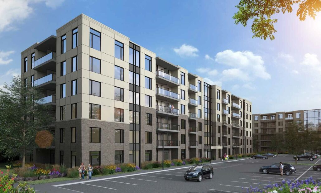 Spur Line Common - Phase 2 Exterior Rendering