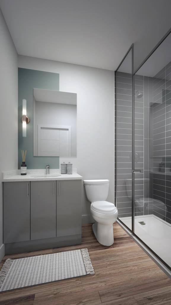 Spur Line Common - Phase 2 Suite Bathroom
