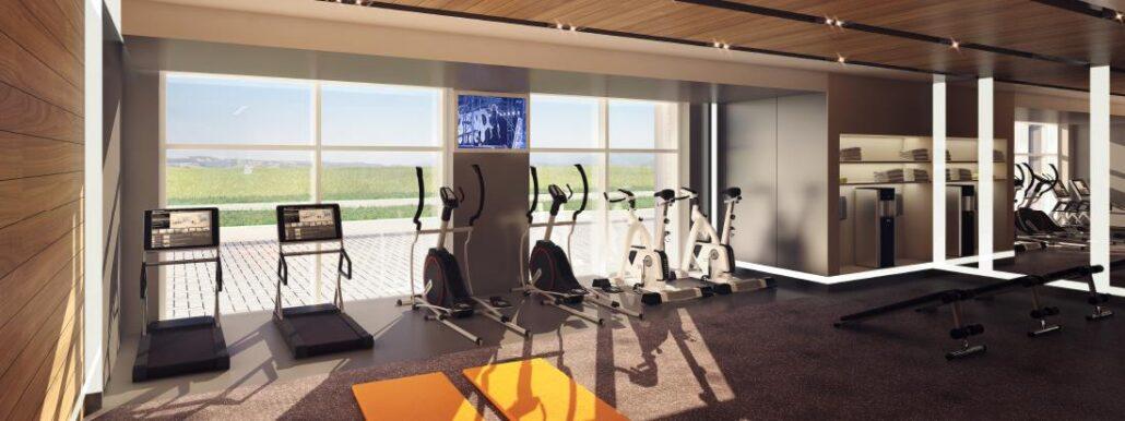 Minto Oakvillage Condos 1 Gym