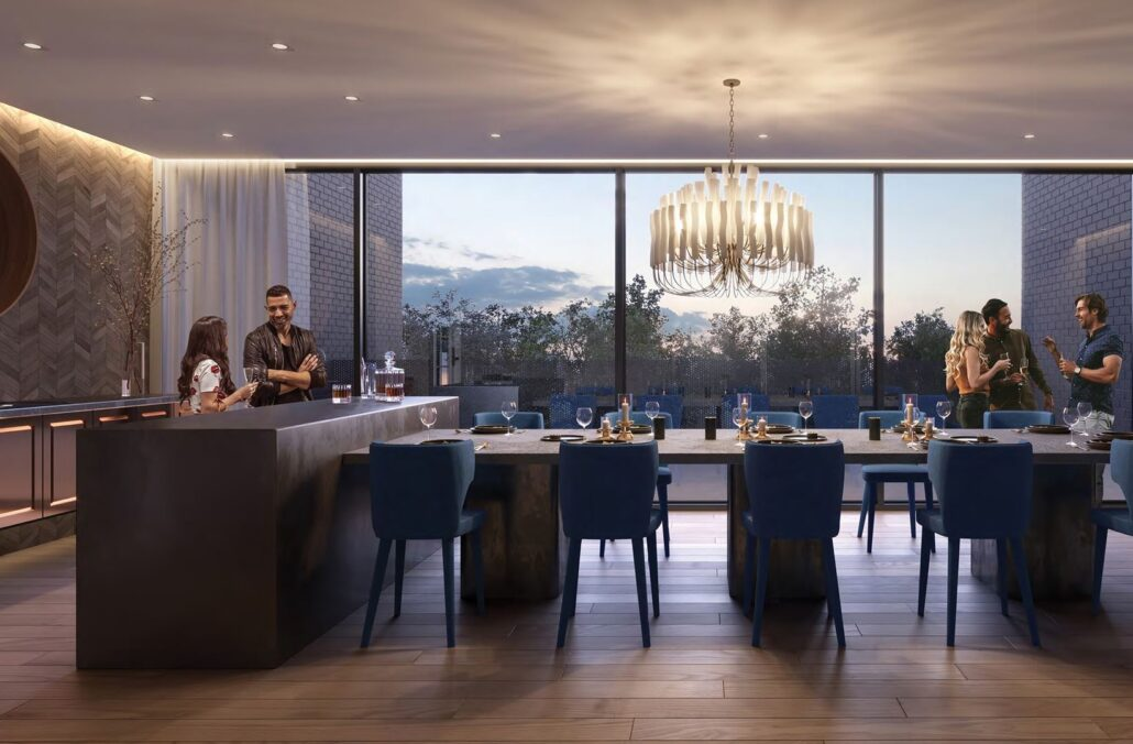 The Branch Condos Dining Room