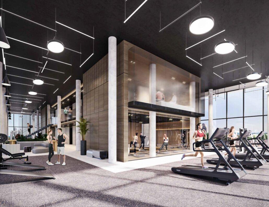 Grand Central Mimico Condos Gym