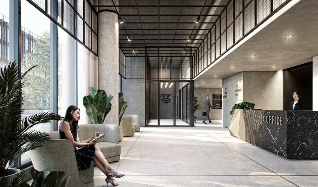 Grand Central Mimico Condos Lobby