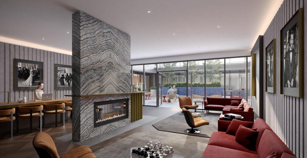 Oscar Residences Lounge