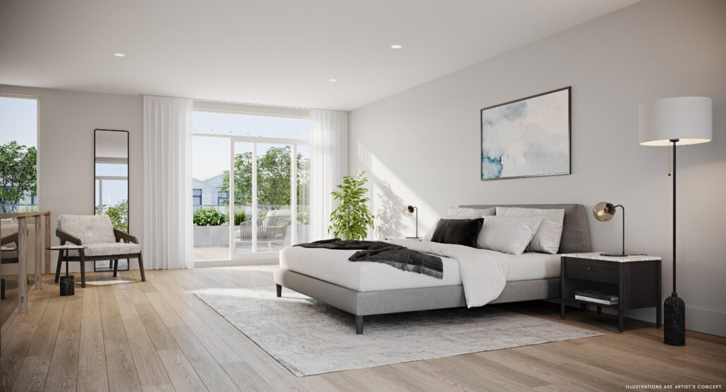 Brightwater Towns Bedroom