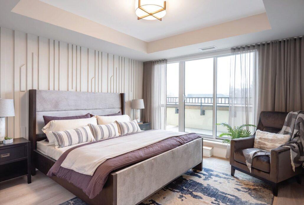 Empire Maven Condos Bedroom
