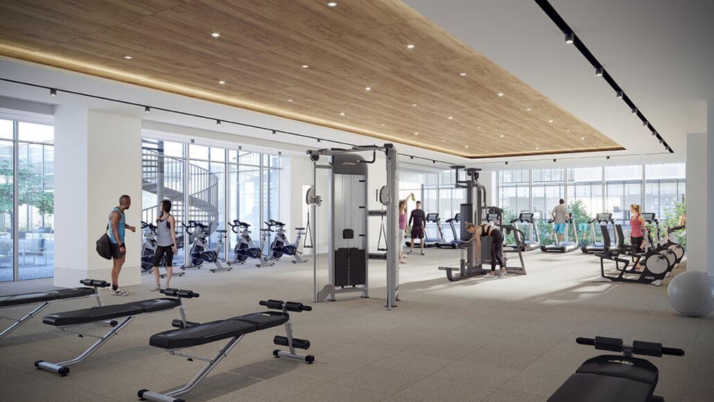M4 Condos Gym