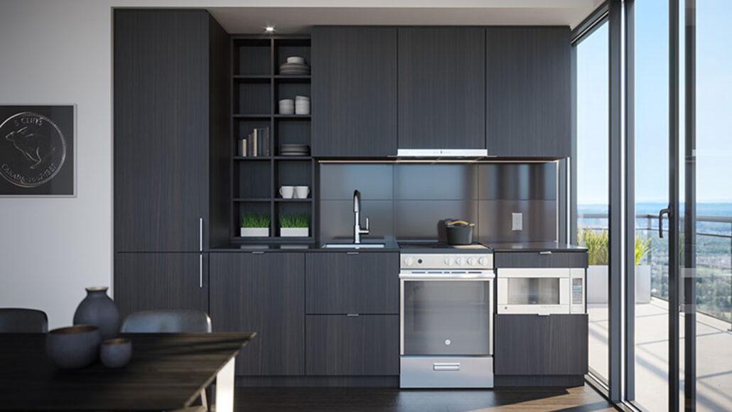 M4 Condos Kitchen