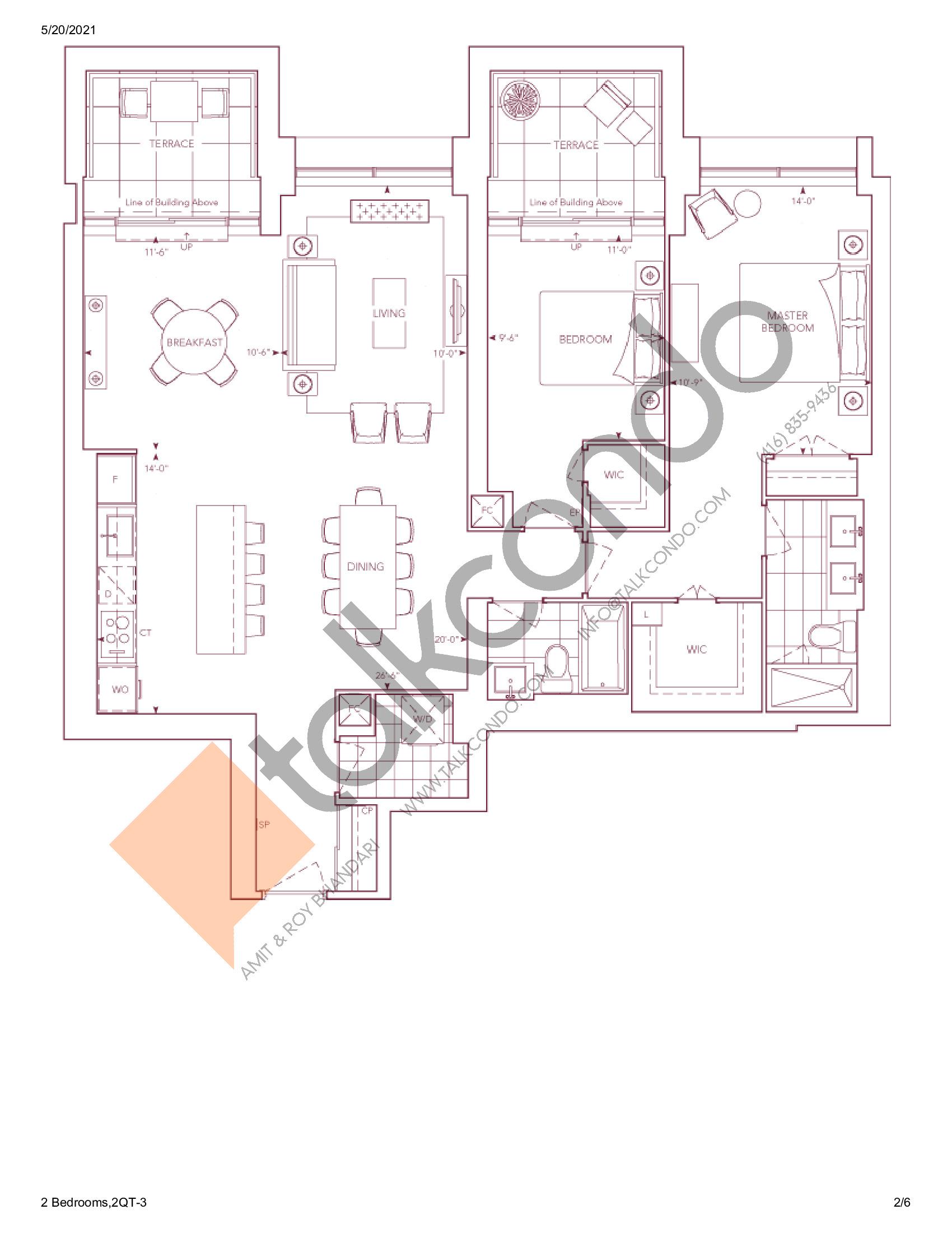 Chateau Auberge On The Park Condos Floor Plans Prices Availability Talkcondo