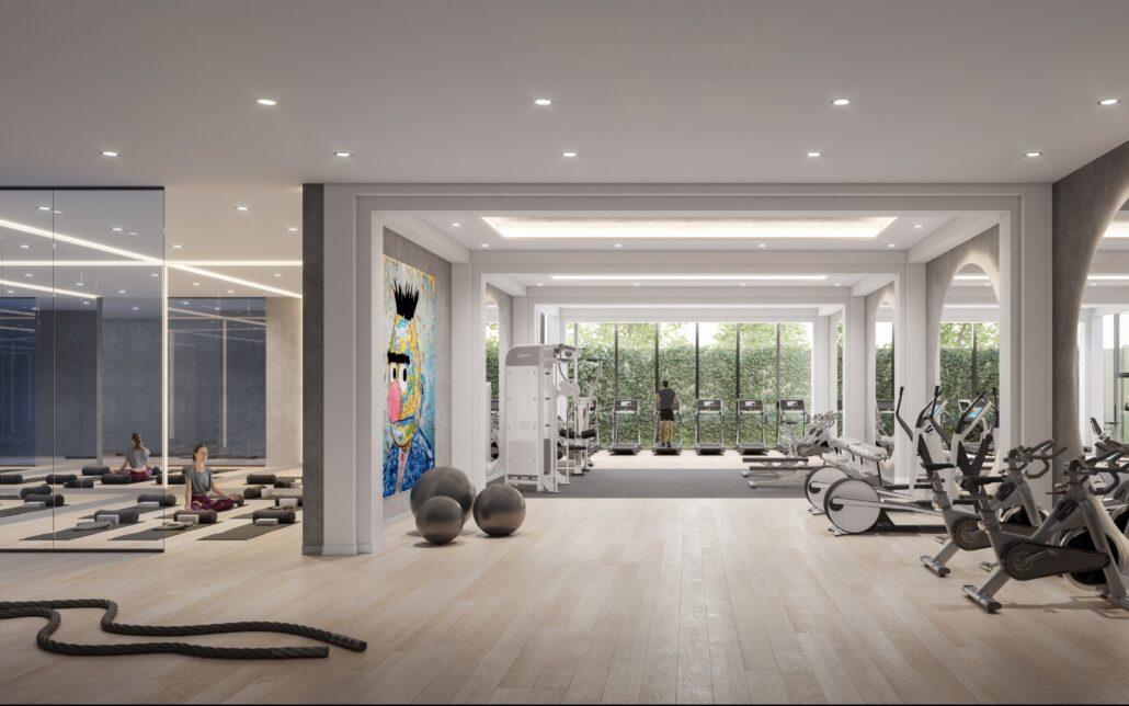 Arte Residences Condos Gym