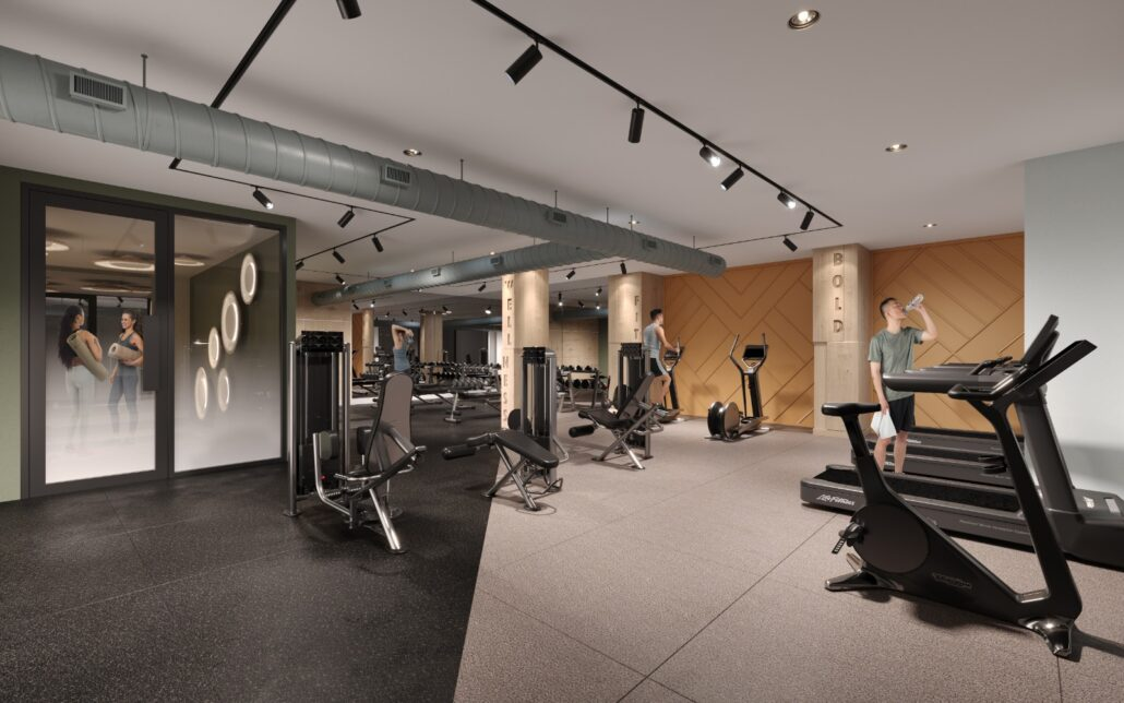 Kindred Condos Gym