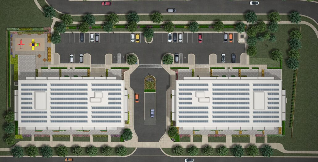 Rossmont Green Site Plan